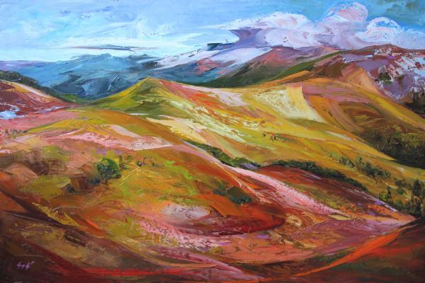 Tatranské hory v mých barvách