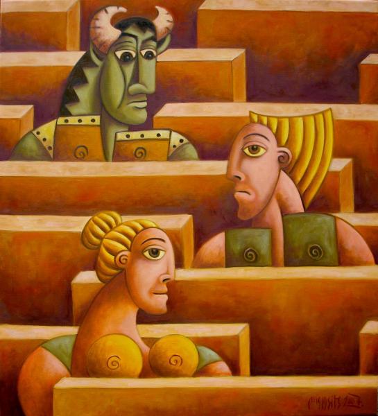 Obraz Malasits Zsolt - Labyrint života II