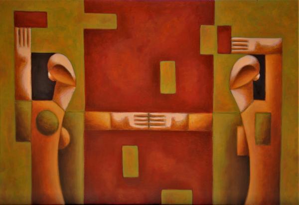 Obraz Malasits Zsolt - Věž života