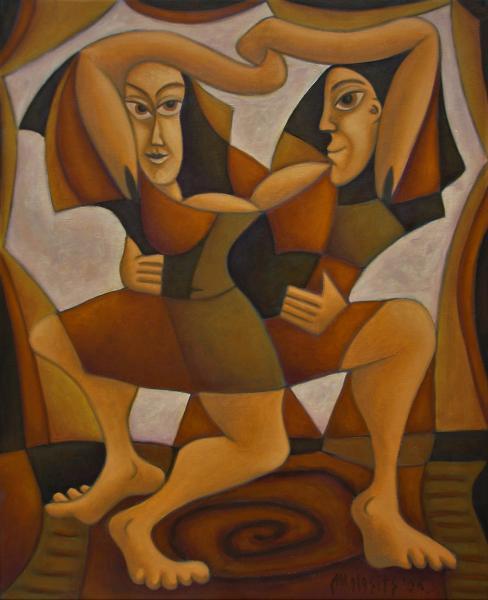 Obraz Malasits Zsolt - Tanec