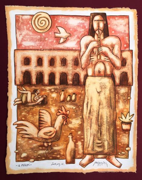 Obraz Malasits Zsolt - Muž