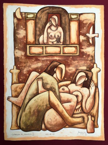 Obraz Malasits Zsolt - Láska a samota 2.