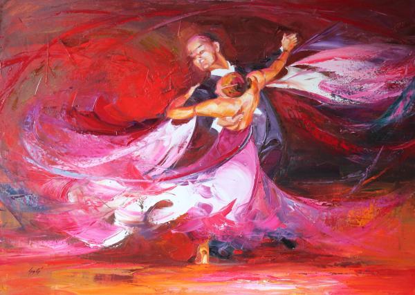 Obraz Szakács Éva - V tanečním víru