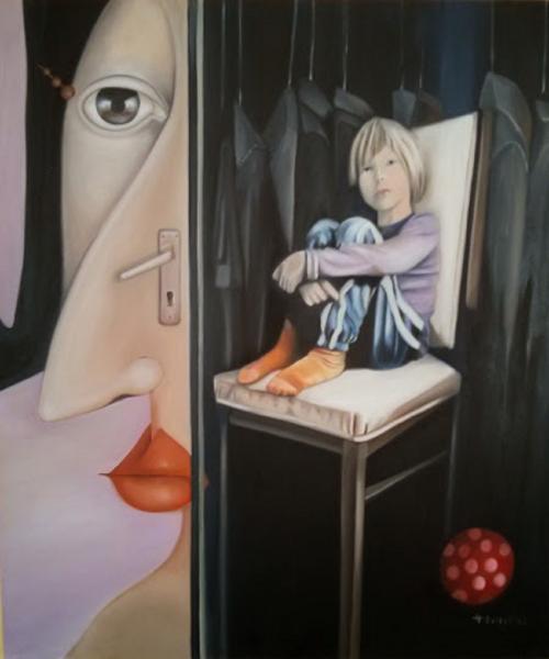 Obraz Hatvany Viktoria - Pojď ven miláčku