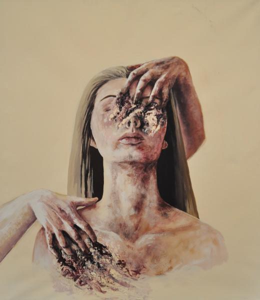 Obraz Koncz Gréta - Čas - tichý ničitel