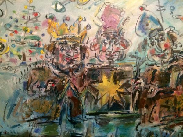 Obraz Tóth Ernő - Tři králi