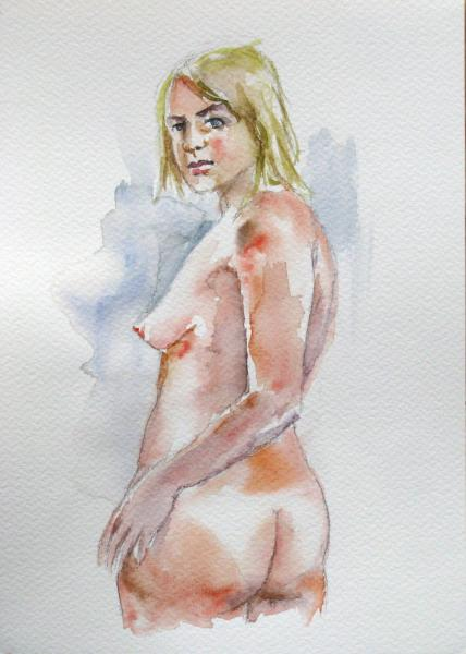 Obraz Székelyhidi Zsolt - Akt 3