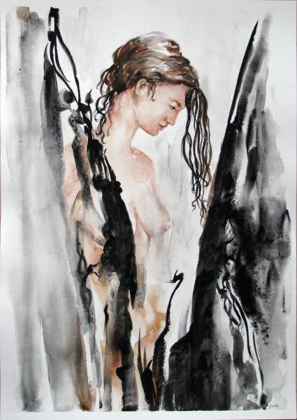Obraz Székelyhidi Zsolt - Zamyšlená