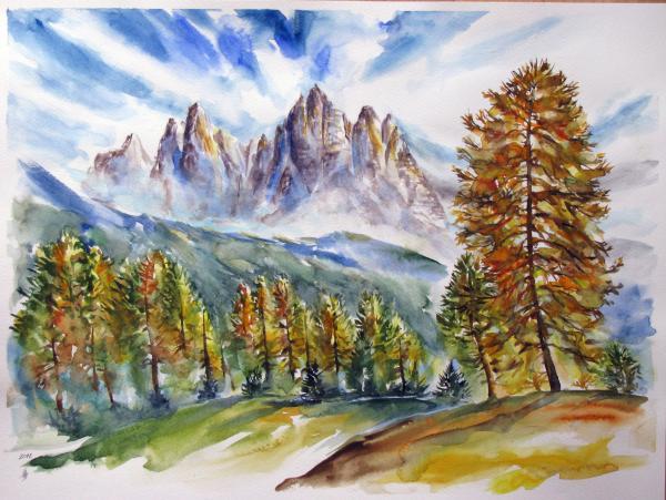 Obraz Székelyhidi Zsolt - Dolomity