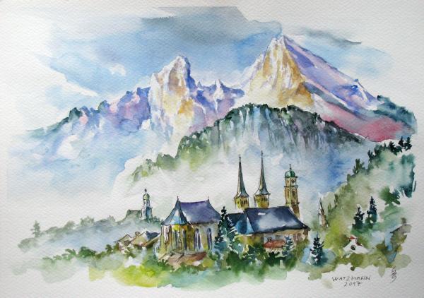 Obraz Székelyhidi Zsolt - Watzmann