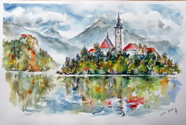 Obraz Székelyhidi Zsolt - Bled
