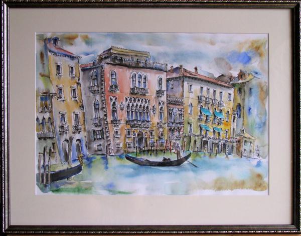 Obraz Székelyhidi Zsolt - Benátky - Canale grande