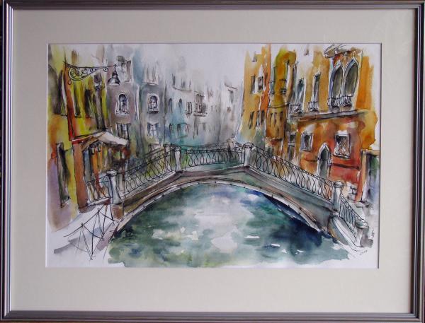 Obraz Székelyhidi Zsolt - Benátky - Cannaregio