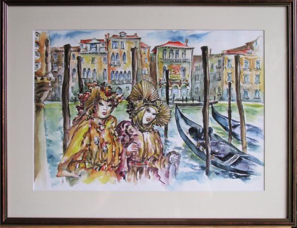 Obraz Székelyhidi Zsolt - Karneval v Benátkach