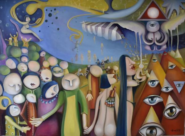 Obraz Hatvany Viktoria - Odkaz I-ťingu: Když se nebe spojí se zemí