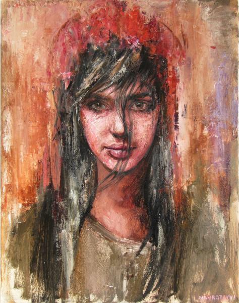 Obraz Navrotskyi Igor - východné dievča