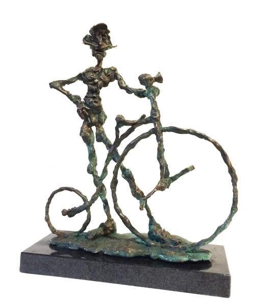 Socha Tóth Ernő - Cyklista