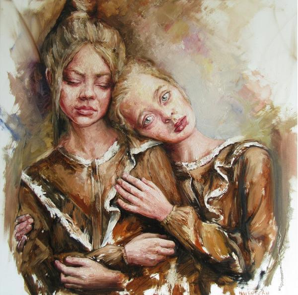 Obraz Navrotskyi Igor - Dve sestry