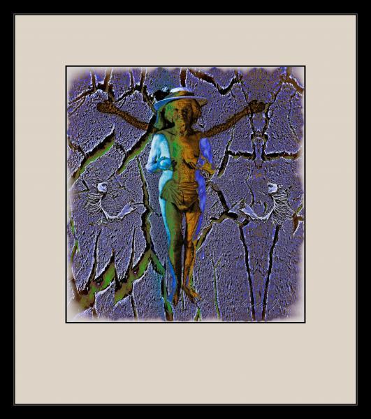 Obraz Sýkora  Jaromír - Bůh stvořil člověka k obrazu svému.