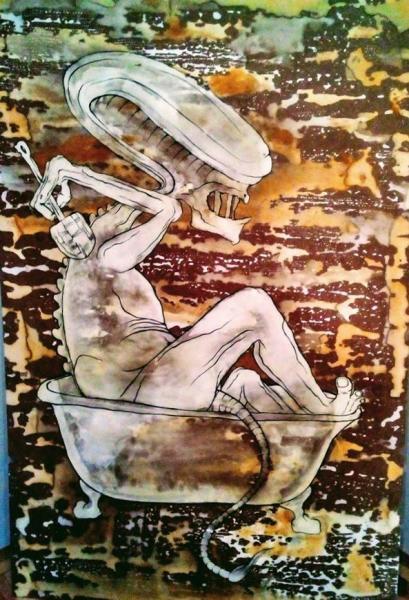 Obraz Klose Andrea - Vetřelcova koupel