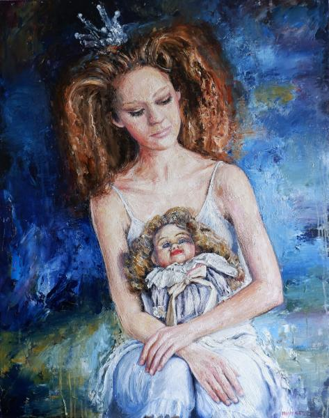 Obraz Navrotskyi Igor - Obľúbená bábika