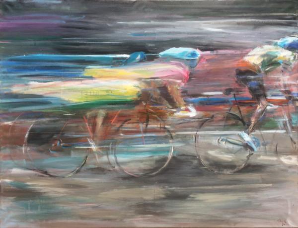 Obraz Tóth Kristóf - Cyklistické závody 2