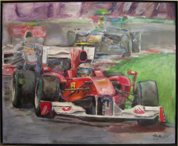Obraz Tóth Kristóf - Formula 1