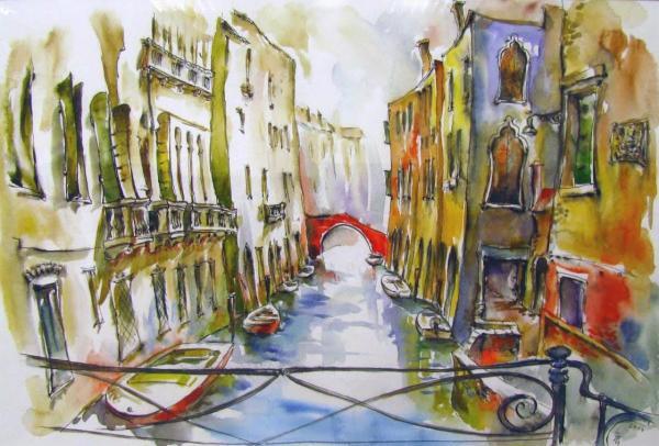 Obraz Székelyhidi Zsolt - Benátky -Cannaregio