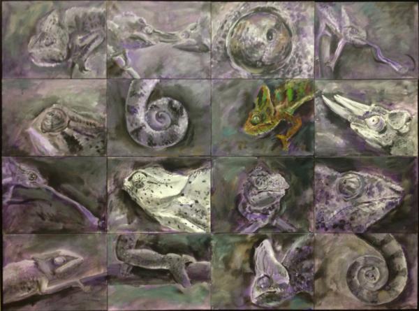 Obraz Tóth Kristóf - Mimikry