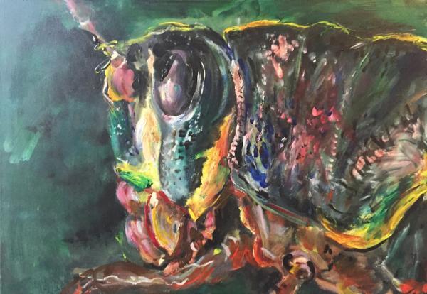 Obraz Tóth Kristóf - Kobylka zelená