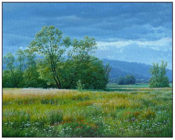 Obraz Mlynárčik Emil - Bouřlivý letní den