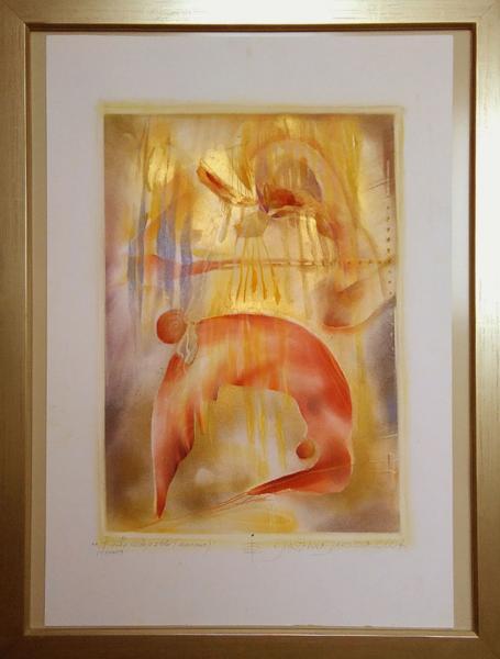 Obraz Štrbová Jarošová Iva - Bouře v duši