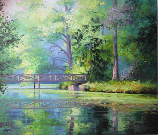Obraz Szakács Éva - Arborétum krásních chvil