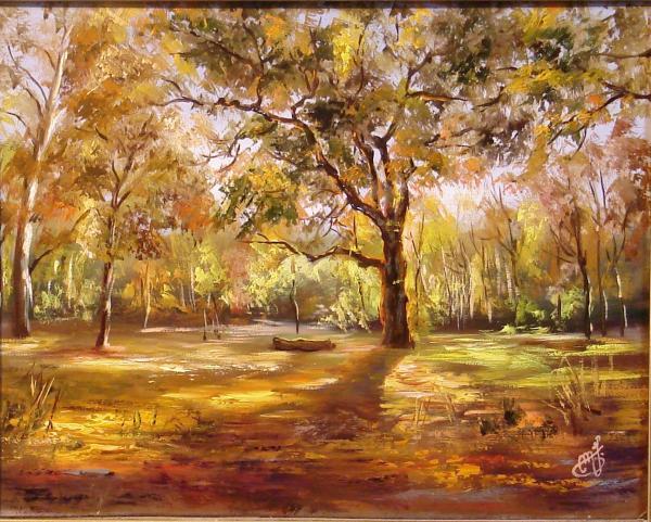 Obraz Maksai János - Podzimní barvy