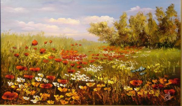 Obraz Maksai János - Květen