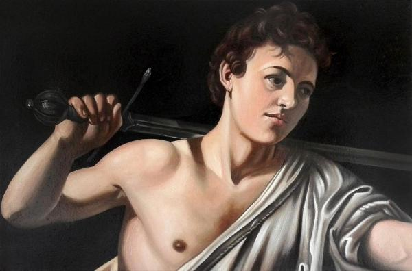Bujna Rastislav - kopie - Caravaggio - David /detail/