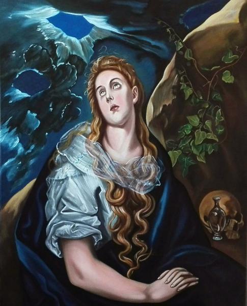 Bujna Rastislav - Kopie El Greco - Sv. Márie Magdaléna