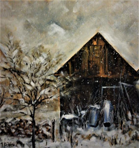 Obraz Kušnierová Jana - První sníh