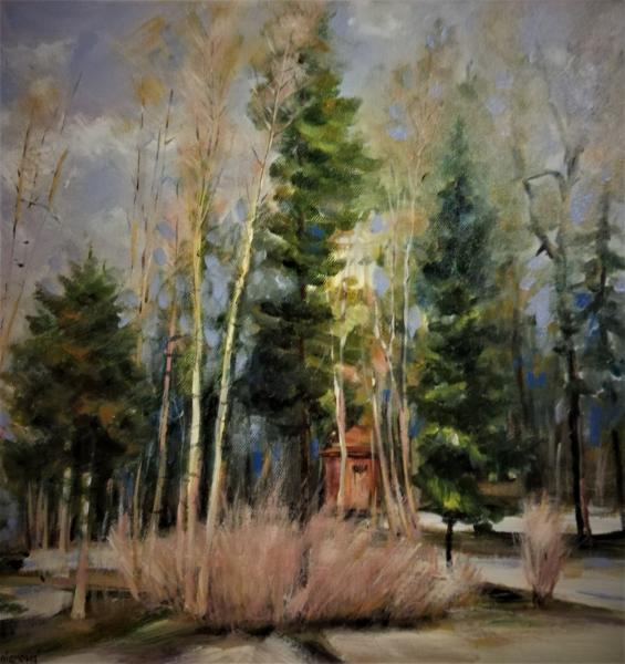 Obraz Kušnierová Jana - Zima v Betliarském parku