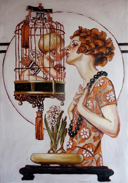 Obraz Siedlová Tatiana - Libertine
