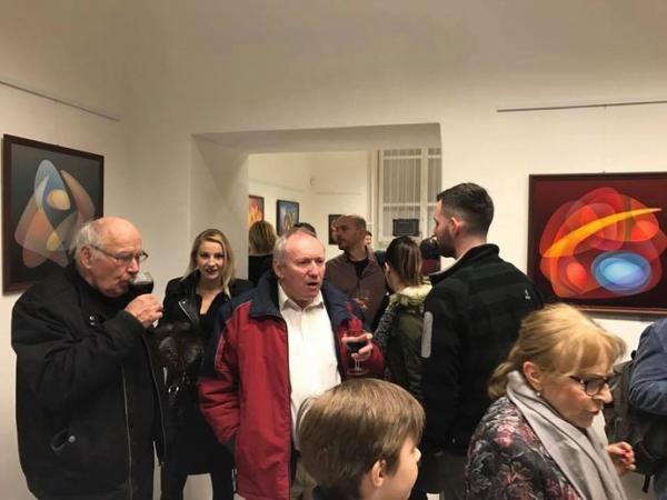 Společná výstava v Praze se sochařem Pavlom Maria Schultzem